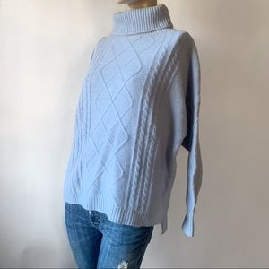 Goodnight Macaroon Oversized Cowlneck Sweater